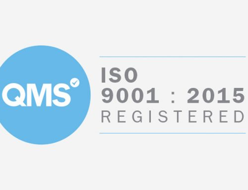 Quality Control Accreditation – ISO 9001